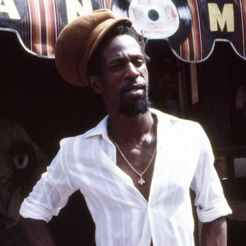 Gregory Isaacs 1983 (Photo: Beth Lesser)