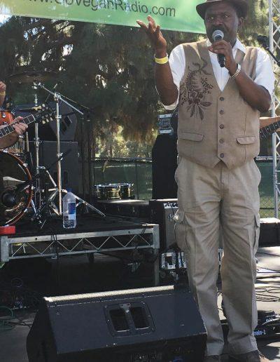 MC & radio personality Junor Francis