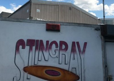 Outside Stingray Studio