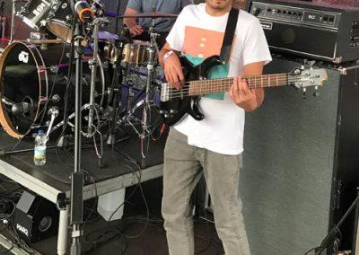 Shannon Killaney on drums & Mark Smith on bass