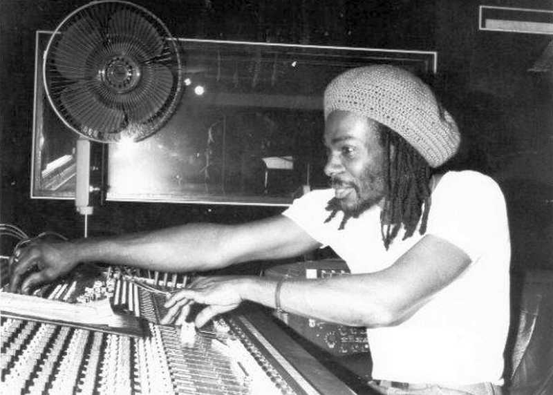 Winston Reedy at Easy Street Studio, London UK (1983)