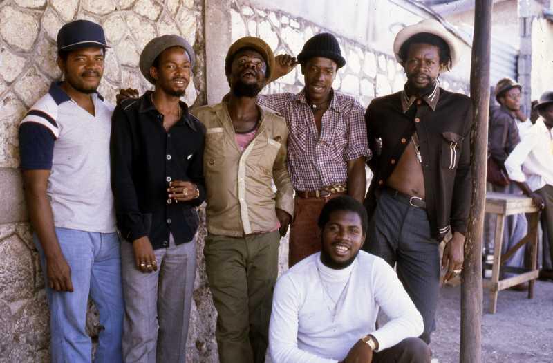 Roots Radics - 1983 (Photo: Beth Lesser)