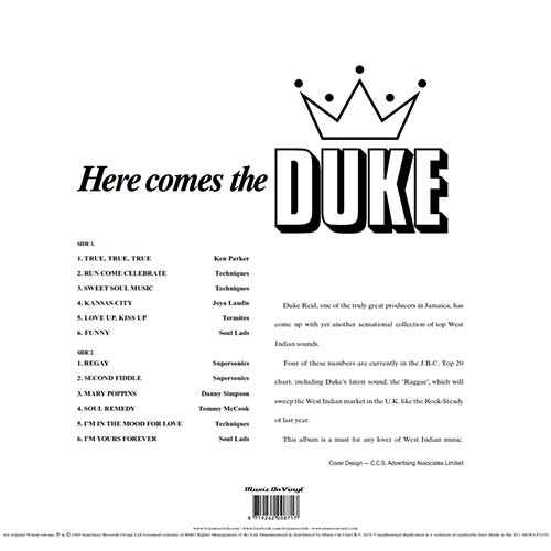 Here Comes The Duke