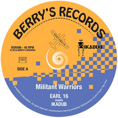 Ikadub ft. Earl 16 - Militant Warriors