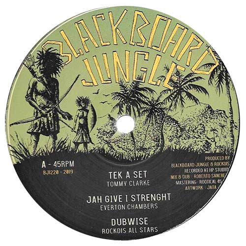 Tommy Clarke - Tek A Set / Everton Chambers - Jah Give I Strength