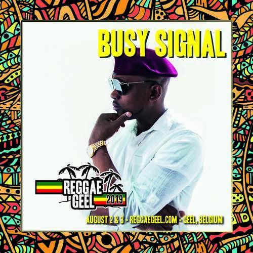 Reggae Geel - Busy Signal
