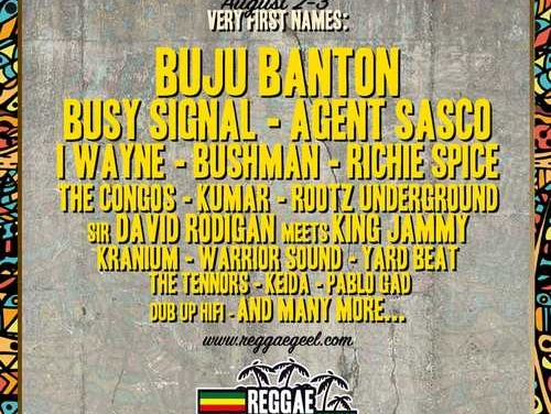 First names Reggae Geel 2019