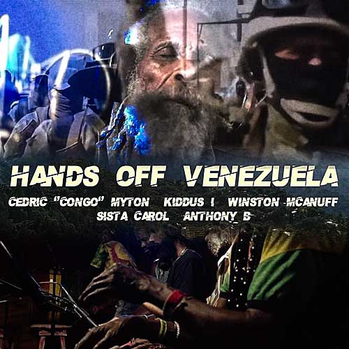 Cedric 'Congo' Myton - Hands Off ft. Kiddus I, Winston McAnuff, Sista Carol and Anthony B