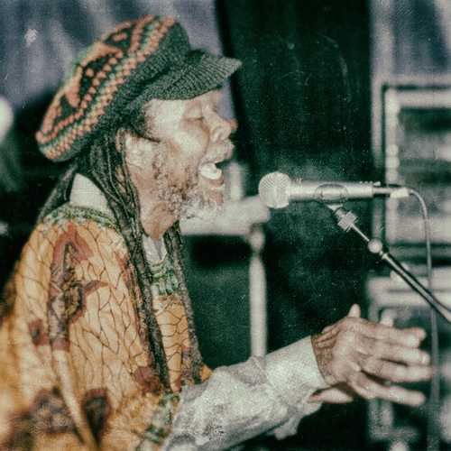Yabby You at Reggae Geel 1999 (Photo: Teacher)