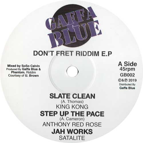 Don't Fret Riddim