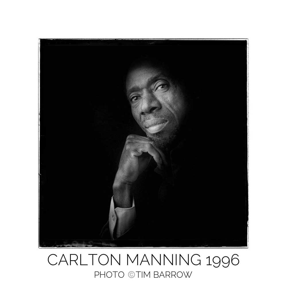 Carlton Manning 1996 by Tim Barrow