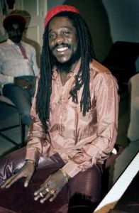 Dennis Brown, Toronto 1987 (Photo: Beth Lesser)