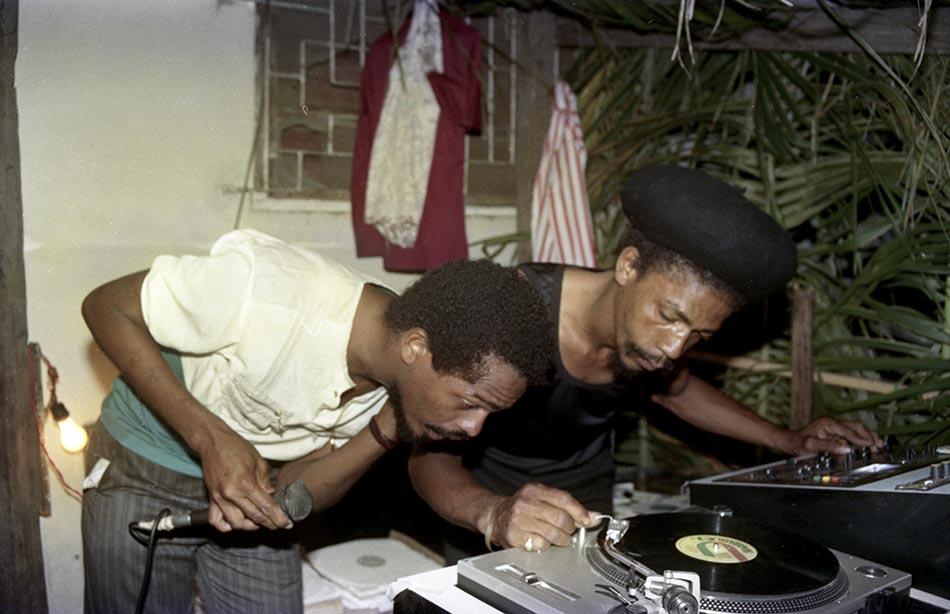Jah Mikey & Danny Dread of Stur-Mars - 1986