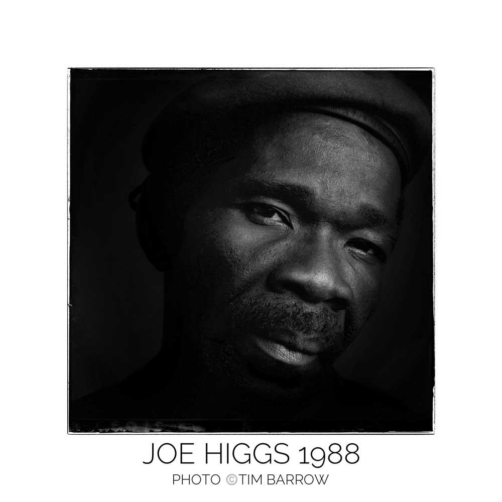 Joe Higgs 1998 by Tim Barrow