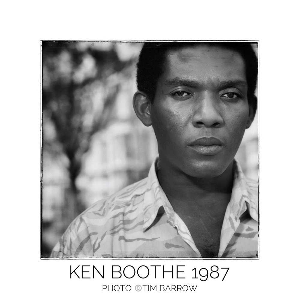 Ken Boothe 1987 by Tim Barrow