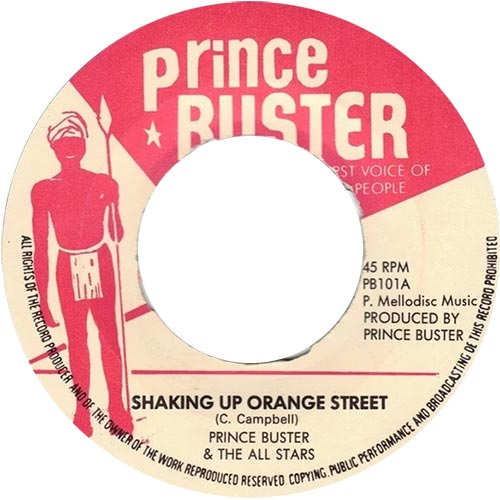 Shaking Up Orange Street