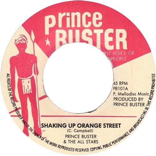 Shaking Up Orange Street
