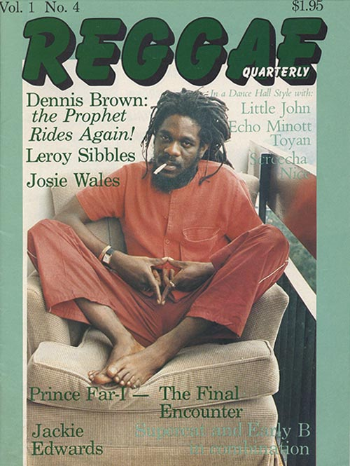 Reggae Quarterly - Click to view or download