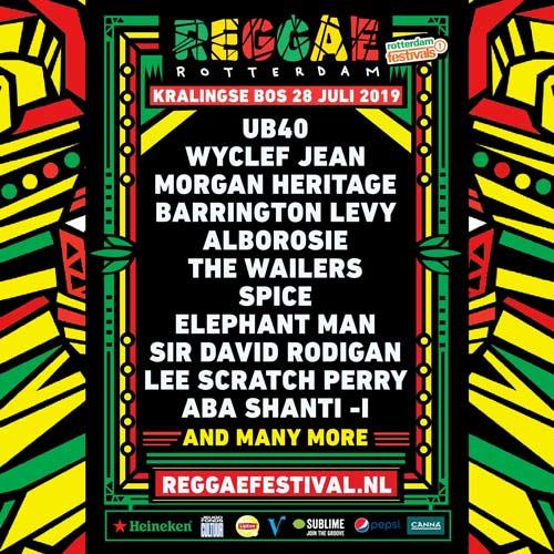Reggae Rotterdam 2019