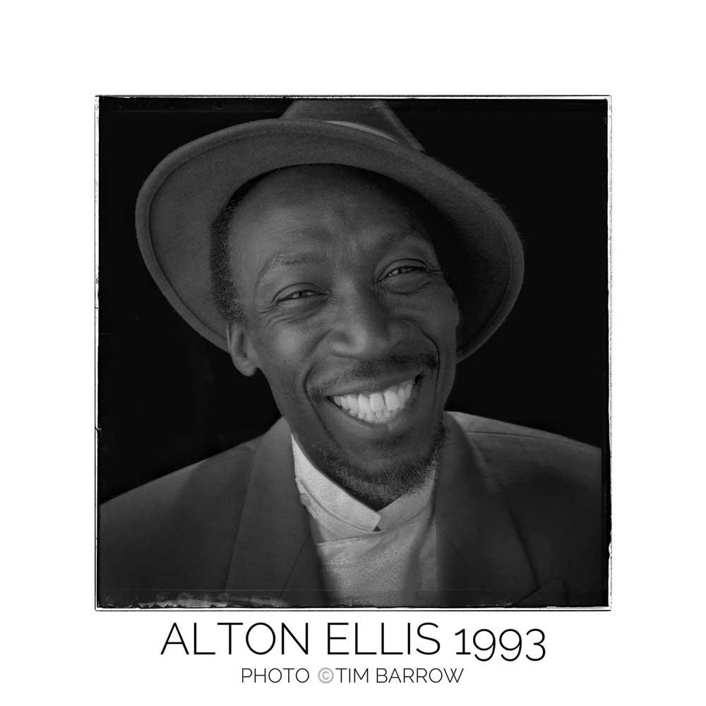 Alton Ellis 1993 by Tim Barrow