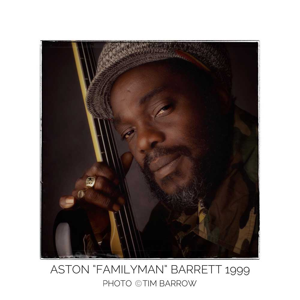 "Aston ""Familyman"" Barrett 1999 by Tim Barrow"