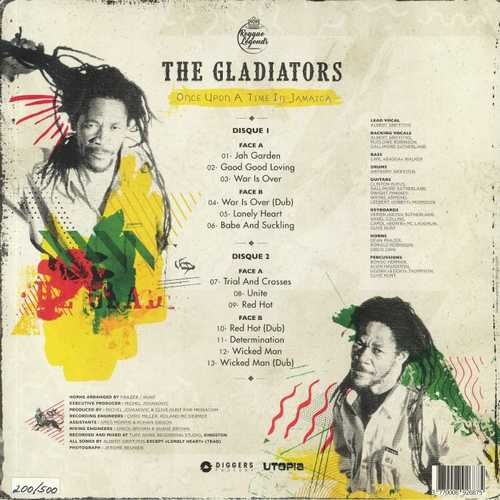 Backsleeve The Gladiators – Once Upon A Time In Jamaica