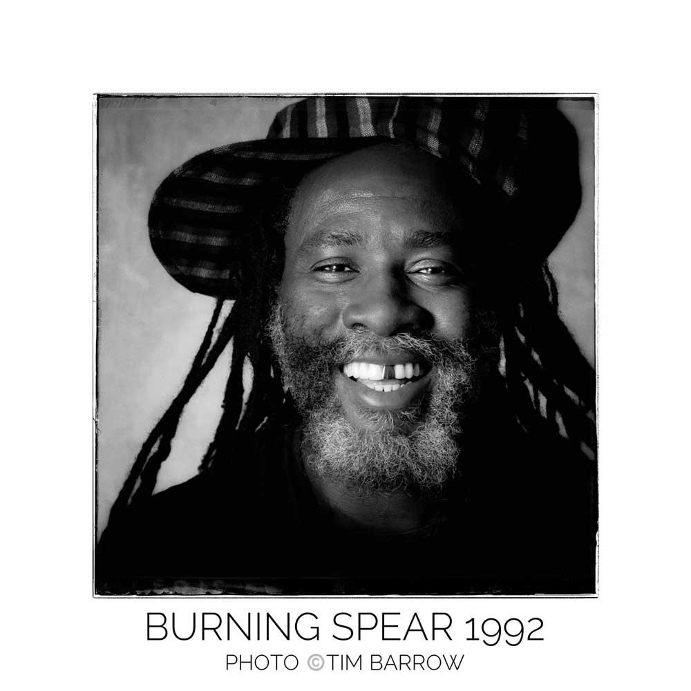 Burning Spear 1992 by Tim Barrow