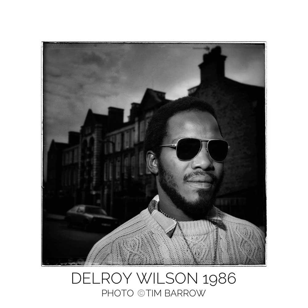 Delroy Wilson 1986 by Tim Barrow