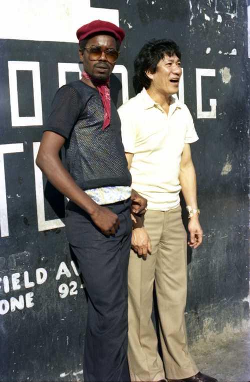 George Wright & Joseph Hoo Kim - 1984 (Photo: Beth Lesser)