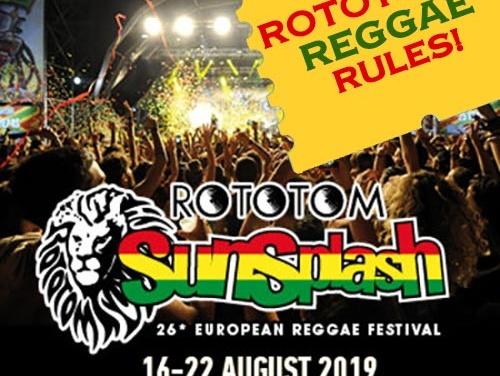 Rototom's Reggae Rules!
