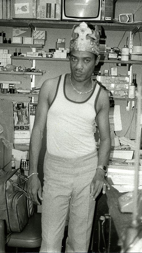 King Tubby - 1983 (Photo: Beth Lesser)