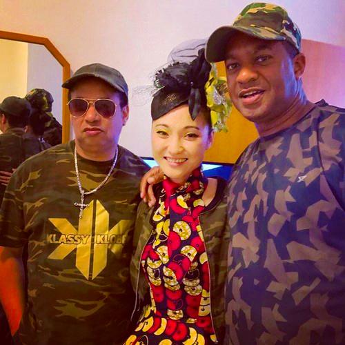 Megumi Mesaku with Mafia & Fluxy