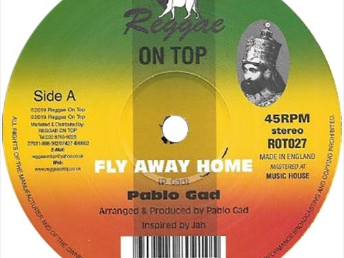 Pablo Gad – Fly Away Home | Reissued 12″ Single