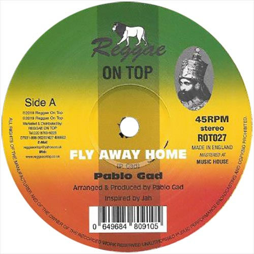 Pablo Gad - Fly Away Home