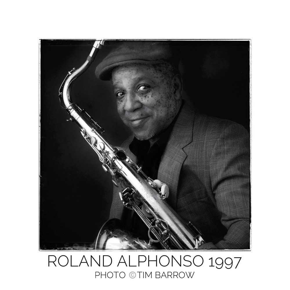Roland Alphonso 1997 by Tim Barrow