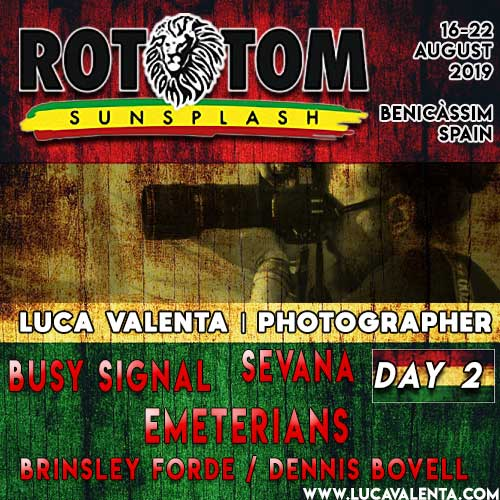 Rototom Sunsplash 2019-Day 2-Luca Valenta