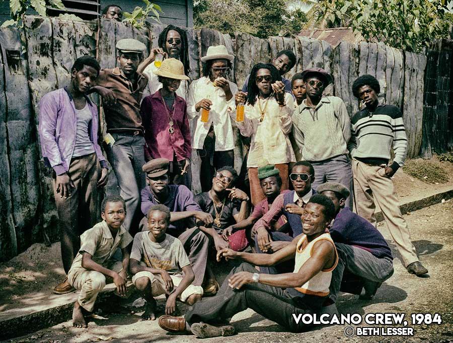 Volcano Crew 1984 Jamaica