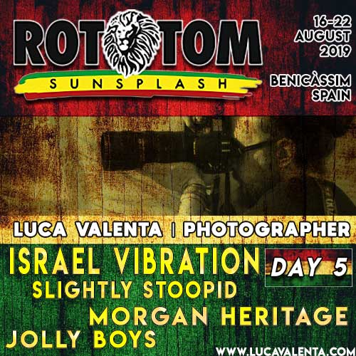 Rototom Sunsplash 2019-Day 5-Luca Valenta