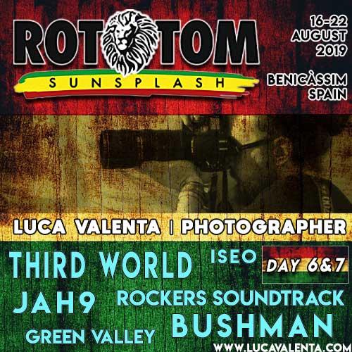 Rototom Sunsplash 2019-Day 6&7-Luca Valenta