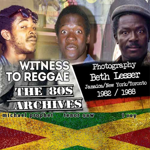 Beth Lesser - Witness To Reggae