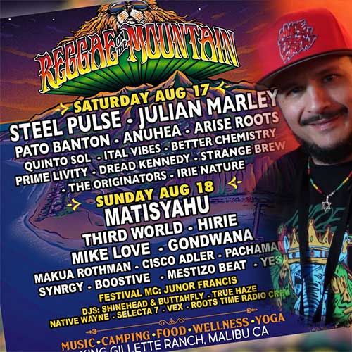 Reggae on the Mountain 2019 - 10th Anniversary