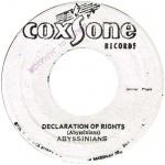 Declaration Of Rights Riddim