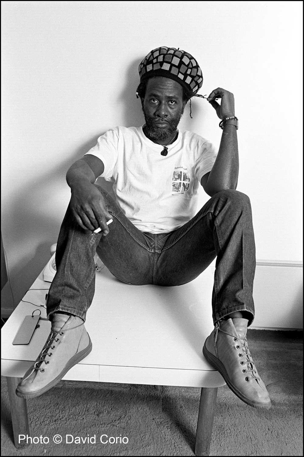 Burning Spear at Kensington Garden Apartments, London, UK (March 18, 1987) by David Corio