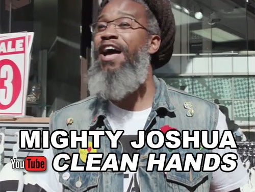 Mighty Joshua – Clean Hands | New Video