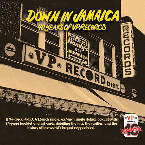 Various - Down In Jamaica: 40 Years of VP Records
