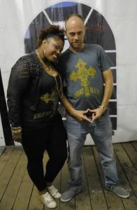 Chantelle Ernandez & Marcus (Reggae Geel 2013)