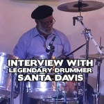 Interview with legendary drummer Santa Davis