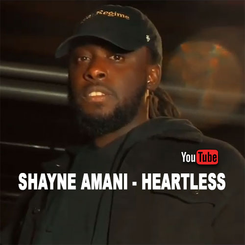 Shayne Amani – Heartless | New Video