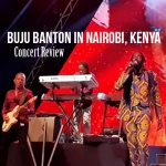 Buju Banton in Nairobi, Kenya at #NRGWave Legends Edition