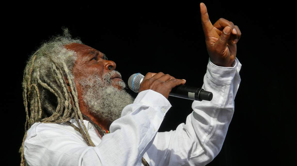 Bob Andy on stage - Reggae Geel 2012 (Photo: Teacher)